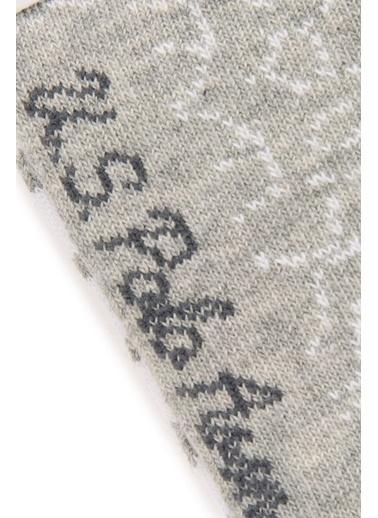 U.S. Polo Assn. 3'lü Çorap Gri